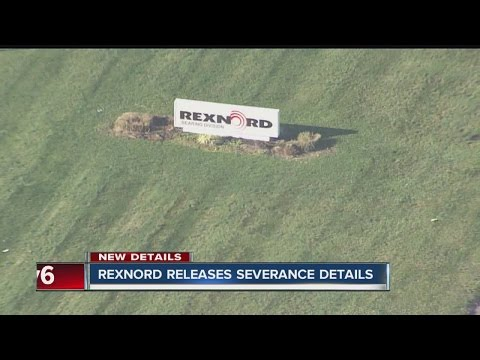 Rexnord workers receive details about severance package
