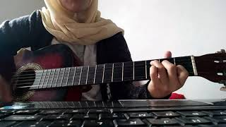 Sammy Simorangkir Dia cover gitar TIA TASIA ZEIN