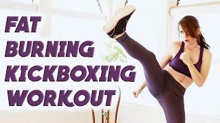 Fat Burning Cardio Kick Boxing Workout – 15 Minute Beginners Workout # 5 w/ Tiffany