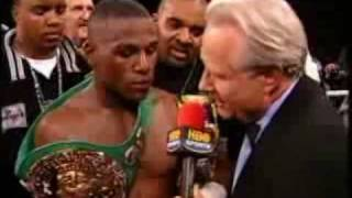 Floyd Mayweather JR interview compilation/calling out guys etc
