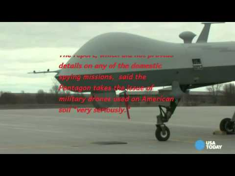 Pentagon has flown Spy Drones over US for 10 yrs