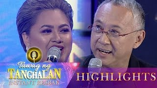 TNT Instant Resbaker Kim thanks Louie Ocampo | Tawag ng Tanghalan (Instant Resbak)