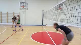 Волейбол тренировка, упражнение по отработку блокирования