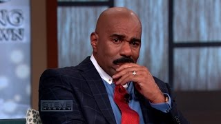 Steve Harvey Tears Up Talking About Daughter
