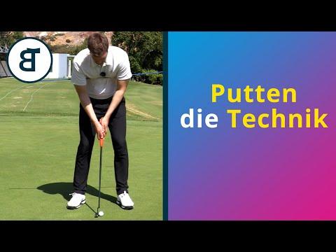 Der Putt   Putten - die Technik   Golf