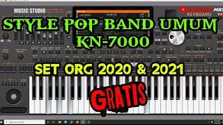 SET POP BAND UMUM KN7000 ▫ STYLE ORG 2021 & 2020