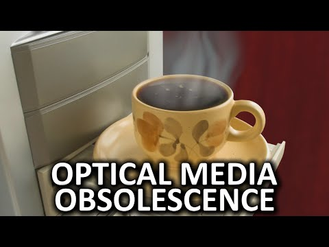 Optical Media Obsolescence as Fast As Possible