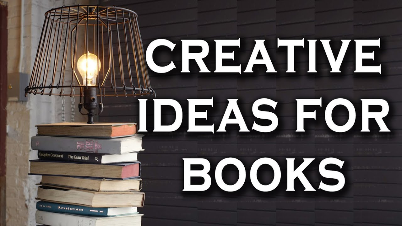 Book Lamp – a Lamp Made of Books