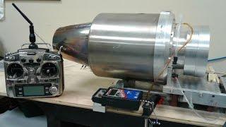 220 LB Thrust Turbine Engine