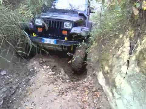 Jeep Wrangler Yj test traction bar