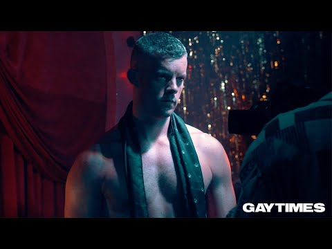 Russell Tovey serves serious looks  at his Gay Times cover shoot
