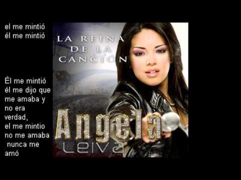 Angela Leiva El Me Mintio Con Letra Track 1 Youtube