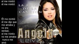 Angela Leiva - El me mintio •Con Letra. Track 1
