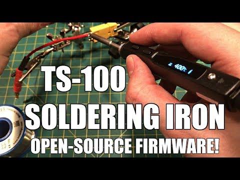 TS-100 Portable Soldering Iron Review (Ralim Custom Firmware