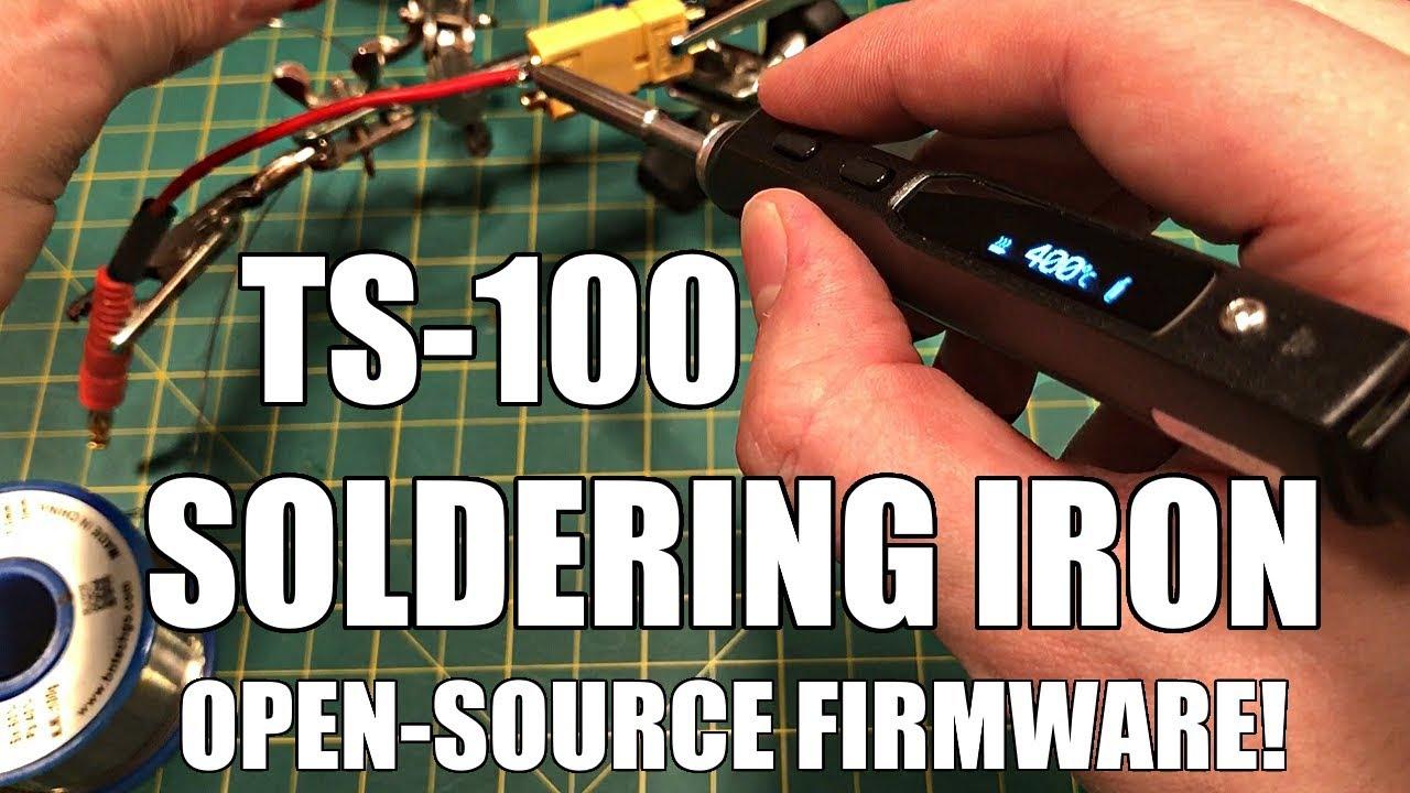 TS-100 Portable Soldering Iron Review (Ralim Custom Firmware)