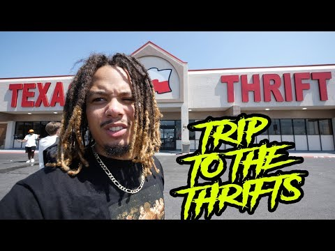 SEARCHING FOR GEMS AT THE THRIFTS IN DALLAS TEXAS !!! TRIP TO THE THRIFTS