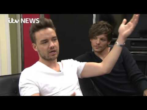 Louis and Liam interview for ITV news 12/10/15