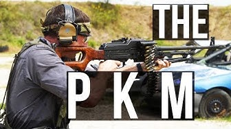 The PKM (the worlds best machine gun?)