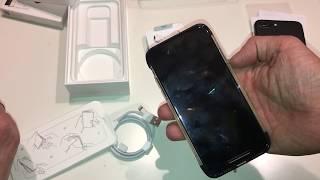 Распаковка Apple iPhone X Space Gray 256GB за 78050 руб / Unpacking Apple iPhone X Space Gray 256GB