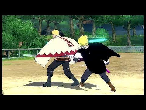 Adult Boruto vs Naruto - Naruto Shippuden Ultimate Ninja Storm 4 MOD  