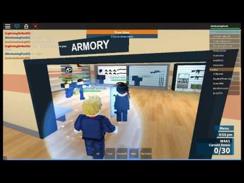 i got a job being swat!! prison life roblox computer