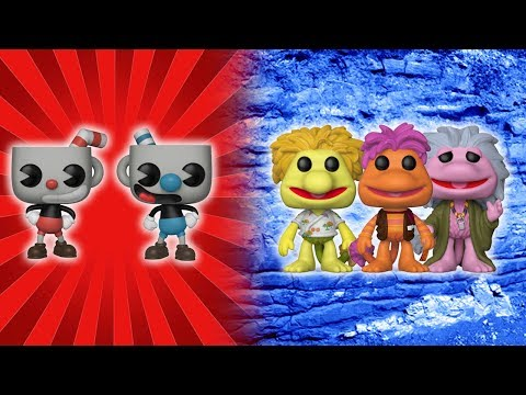 funko News | Fraggle Rock and Cuphead Pops!
