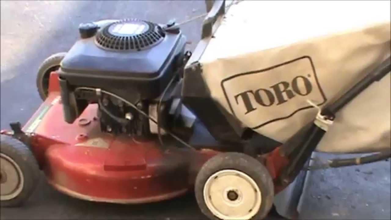 Toro Lawnmower Troubleshooting Youtube