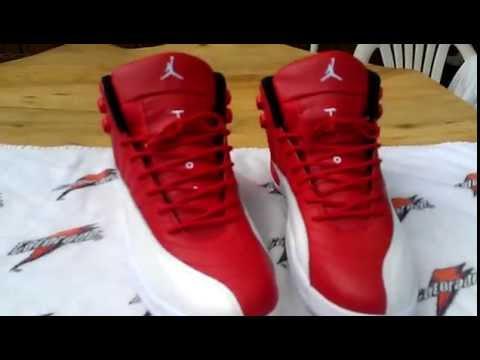 147b414822ea77 ... Dhgate Jordan 12 Gym Red - YouTube ...