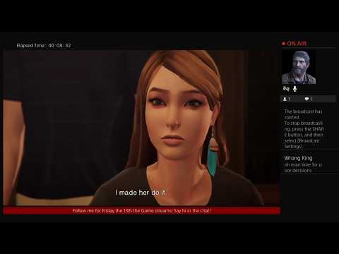 LIFE IS STRANGE: BEFORE THE STORM Episode 2 BRAVE NEW WORLD - LIVE STREAM 10/19/17