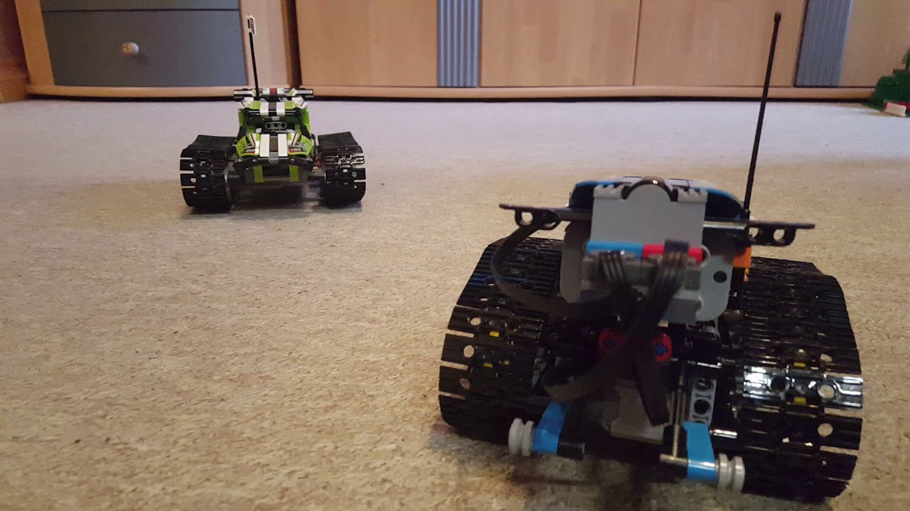 LEGO 42065 Versus 42095 - YouTube