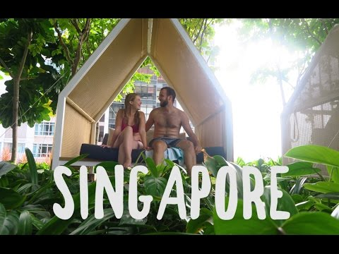 OUR FIRST OVERSEAS HOLIDAY TOGETHER | SINGAPORE VLOG