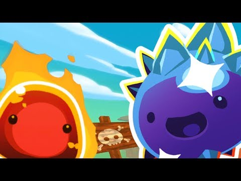 LOOKING FOR RARE SLIMES | Slime Rancher