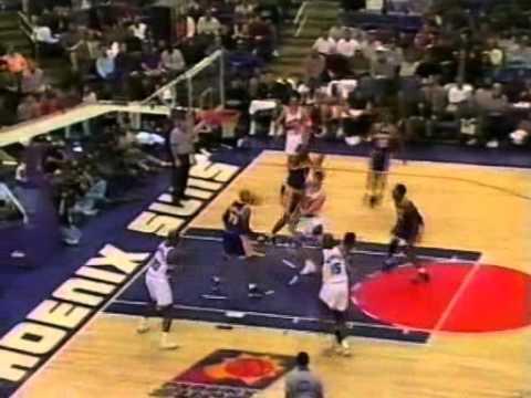 J.R. Reid (Lakers) Scores 10 Straight to Marv Albert