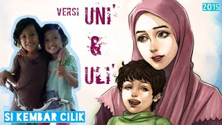 Si Kembar menyanyikan lagu Qasidah IBU engkaulah wanita yang mulia | Si Kembar 'Leon'