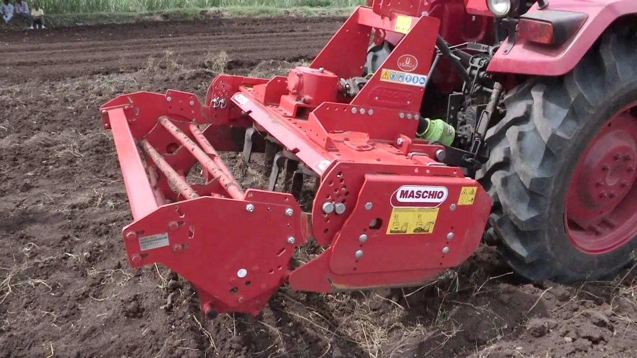 mahindra tractors mahindra yuvo power harrow hindi youtube rh youtube com
