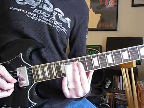 All Down the Line (Slide Guitar Part) - Rolling Stones