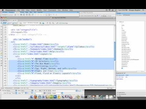 (25/37) - Using Child Selectors To Target Specific HTML Elements I - UCLA Extension