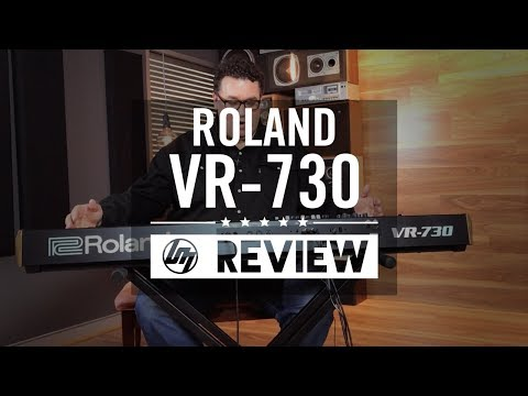 Roland VR-730 Live Performance Keyboard | Better Music