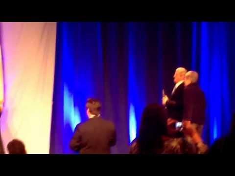 Wycallis Elementary School receiving National Blue Ribbon award (2013)