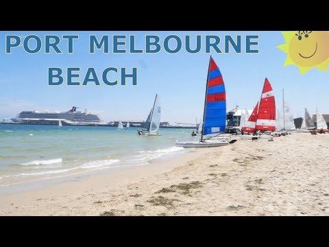 PORT MELBOURNE BEACH - LAGOON PIER - MELBOURNE AUSTRALIA
