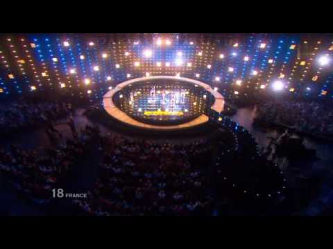 Jessy Matador Eurovision 2010 - Allez Ola Olé (with Lyrics)