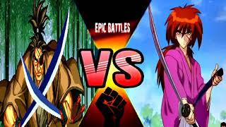 Kenshin vs Jubei  - Rurouni Kenshin vs Samurai Shodown
