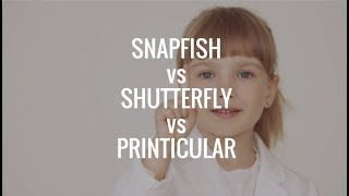 Snapfish vs Shutterfly vs Printicular, Comparison & Review of Photo Prints App