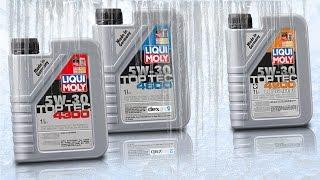 Olej 5W30 Test Zimna -30°C Liqui Moly top tec 4300, top tec 4600,  top tec 4200 long life III