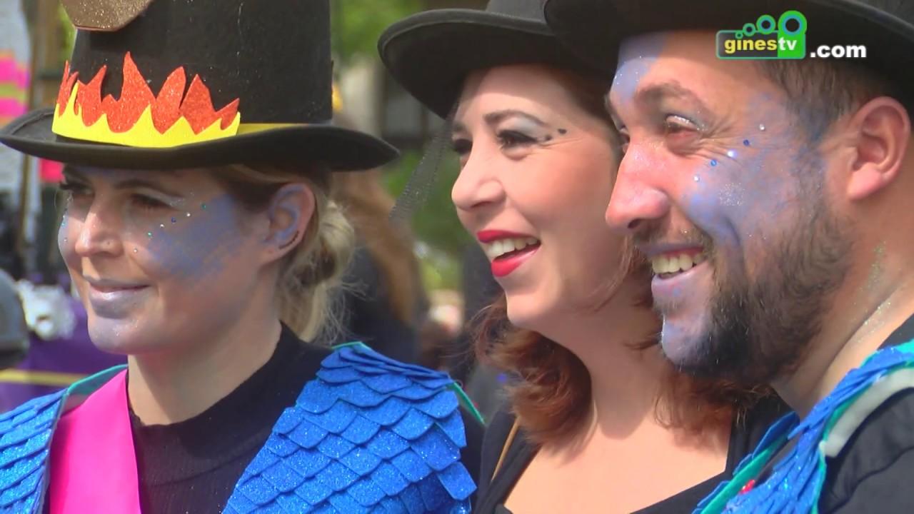 Gines cerró su Carnaval con un espléndido día de convivencia en el Entierro de la Sardina