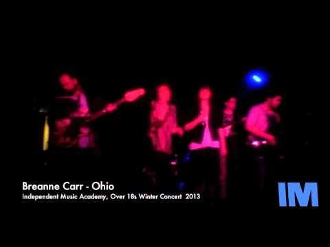 Breanne Carr (Vocals): Ohio - Independent Music Academy Winter Concert 2013