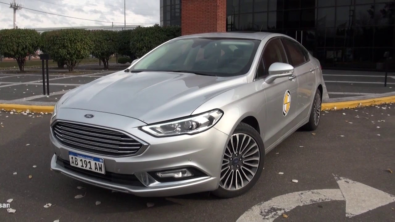 Test Drive Ford Mondeo 2017 Parte 1 Youtube