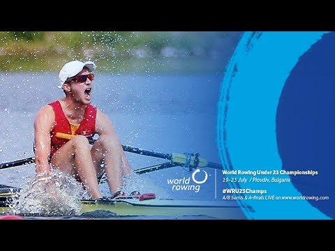 2017 World Rowing Under 23 Championships - A Finals (23 July)