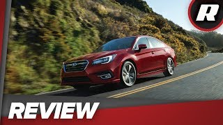 2018 Subaru Legacy 2.5i Sport: A solid yet muted midsize sedan