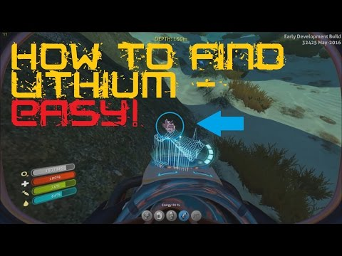 how to harvest lithium subnautica